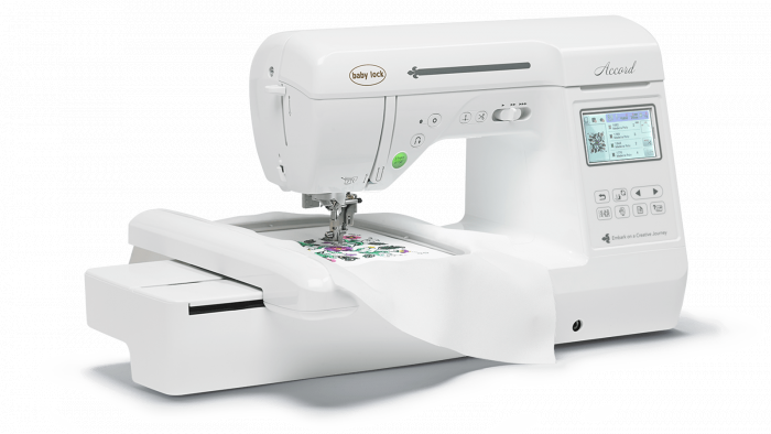 Baby Lock Accord Embroidery Machine
