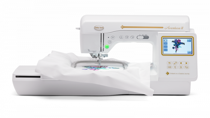 Baby Lock Aventura II Embroidery Machine