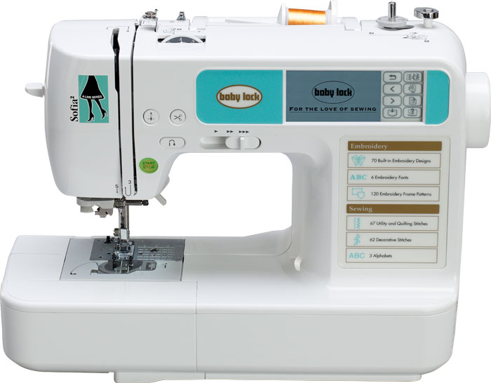 Baby Lock Sofia 2 Sewing Machine